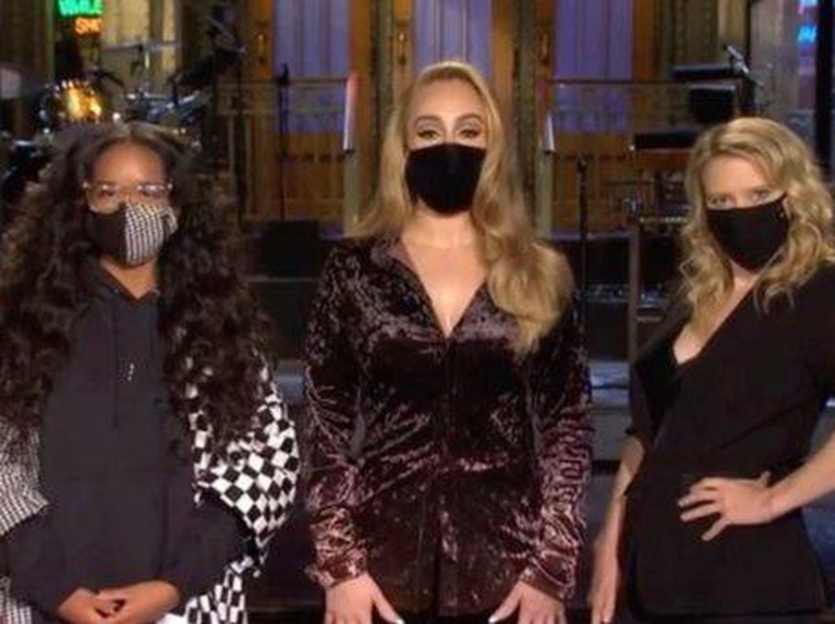 Foto: Adele, como anfitriona de 'Saturday Night Life'. (NBC)