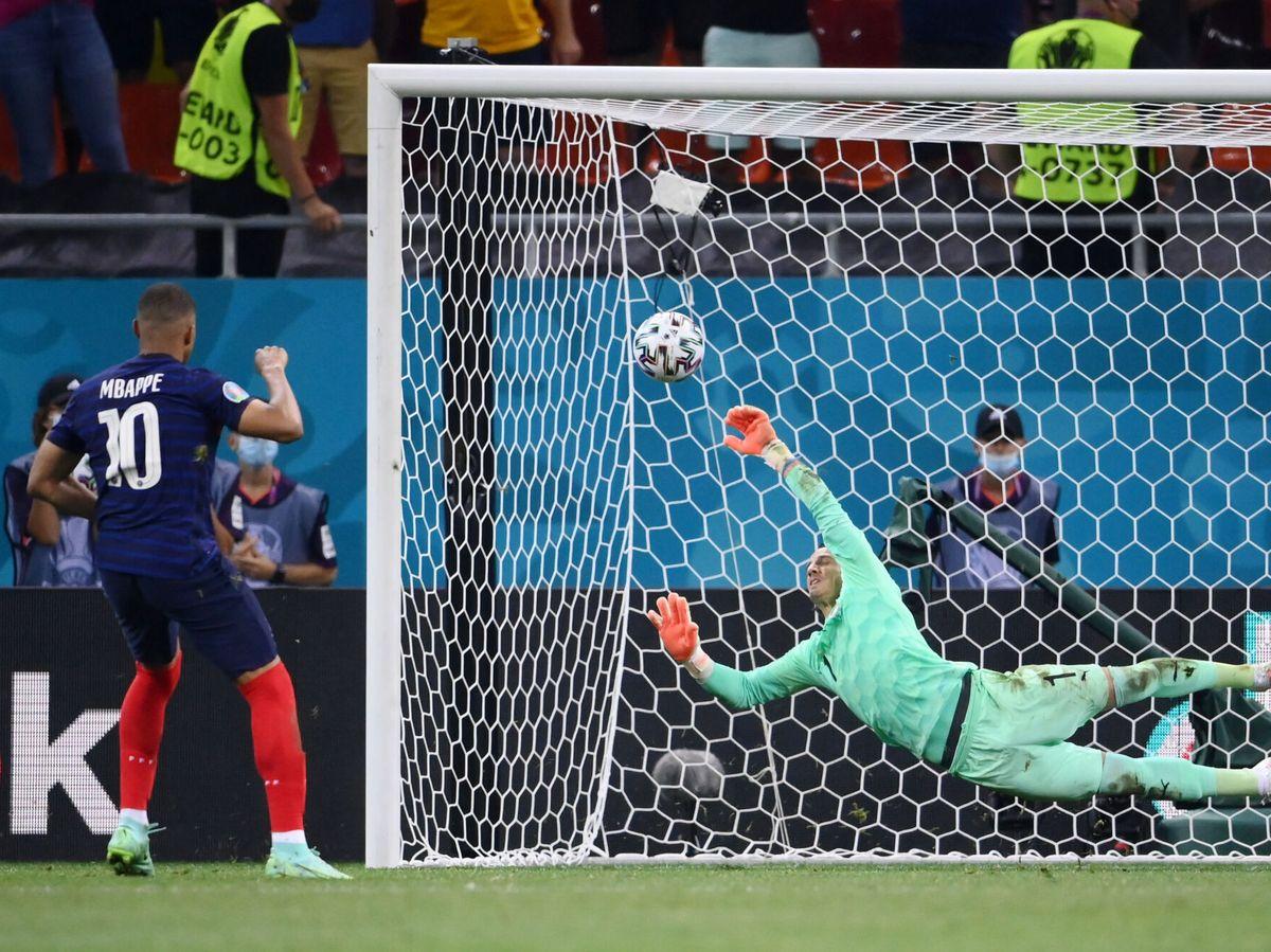 Foto: El gran deseado del Real Madrid falló la pena máxima. (Reuters)
