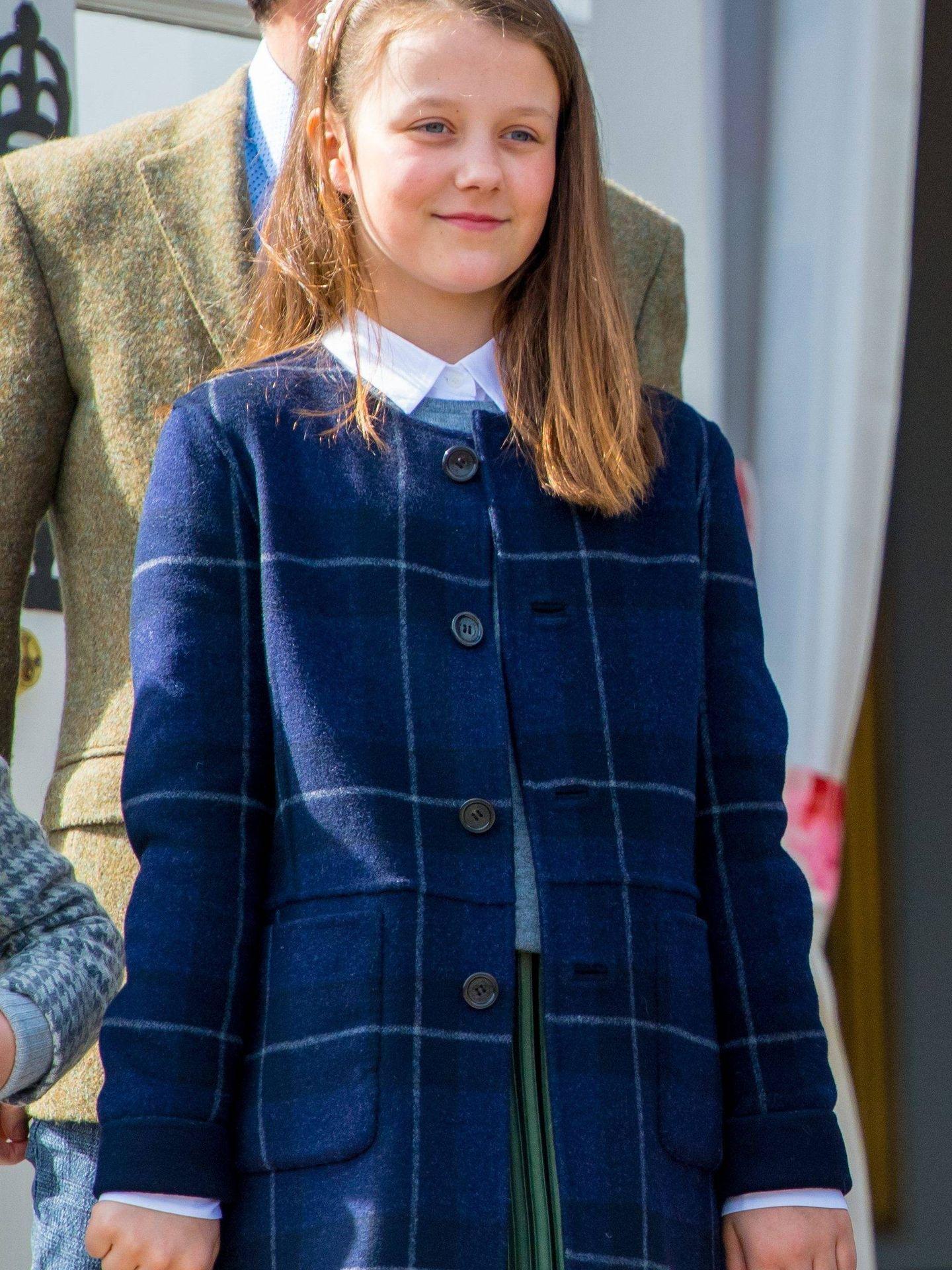 La princesa Isabella de Dinamarca en el cumpleaños de la reina Margarita. (Cordon Press)