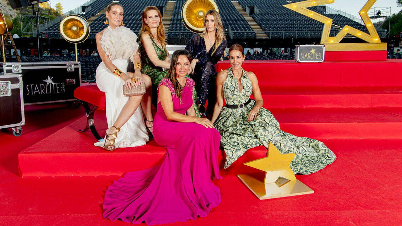 Fiona Ferrer, Olivia de Borbón, Barbara Kimpel, Sonia González y Elsa Anka. (Foto: Starlite)