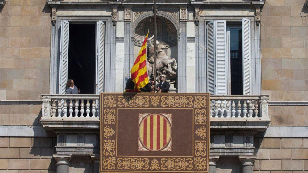Foto: Balcón del Palau de la Generalitat. (EFE)