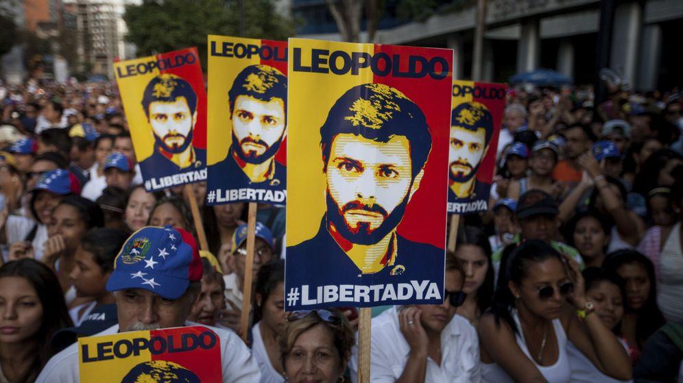 Foto: Manifestación un grito por la libertad (Efe)