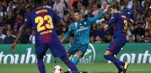 Post de Cristiano Ronaldo, héroe y villano del primer Clásico de la Supercopa