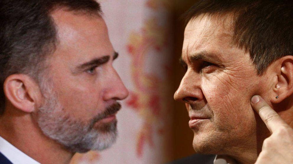 TV3 esconde a Felipe VI: Otegi aparece el doble que el Rey en sus informativos