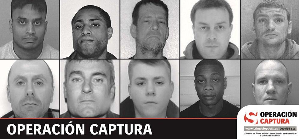 Foto: Reino Unido pide ayuda a España para detener a diez fugitivos británicos (EFE)