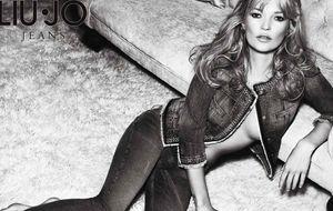 Foto: Kate Moss para Liu Jo Jeans