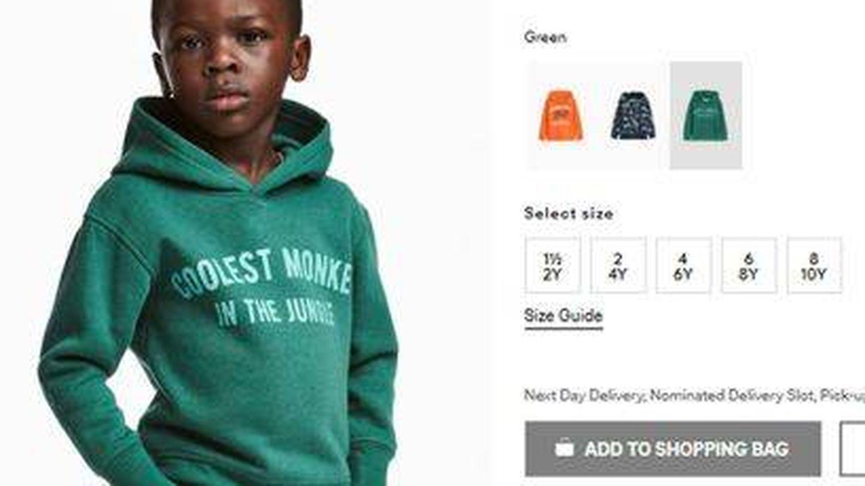 La polémica sudadera de H&M.