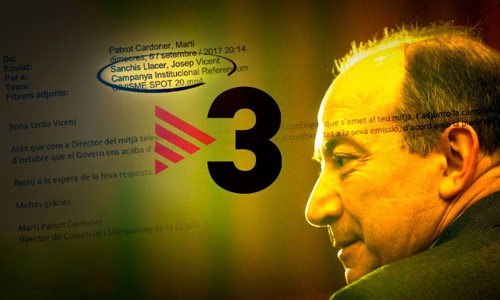 Foto: Vicent Sanchís, director de TV3. (EFE/EC)