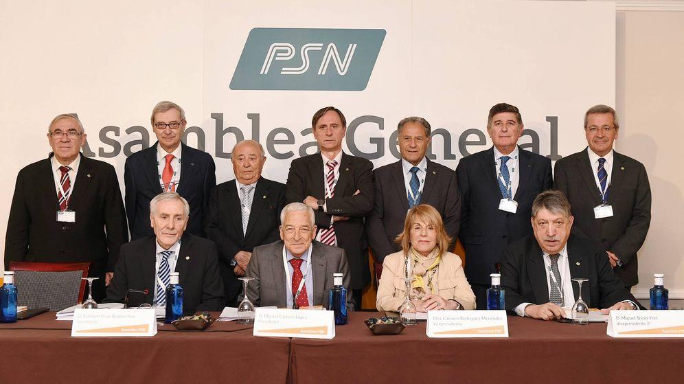 Foto: Los miembros del consejo de PSN.