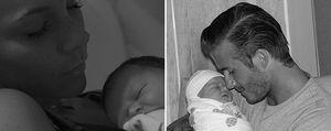 Foto: Victoria y David Beckham presentan a su hija