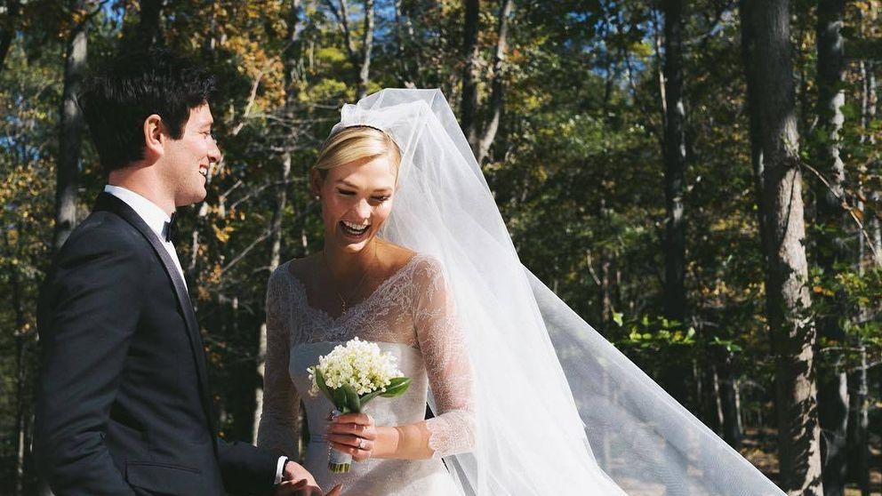 El vestido y los detalles de la boda secreta de Karlie Kloss, nueva cuñada de Ivanka