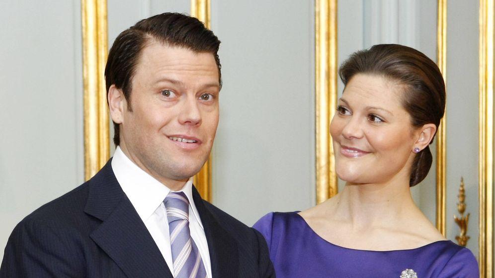 Foto: Daniel y Victoria de Suecia. (Getty)