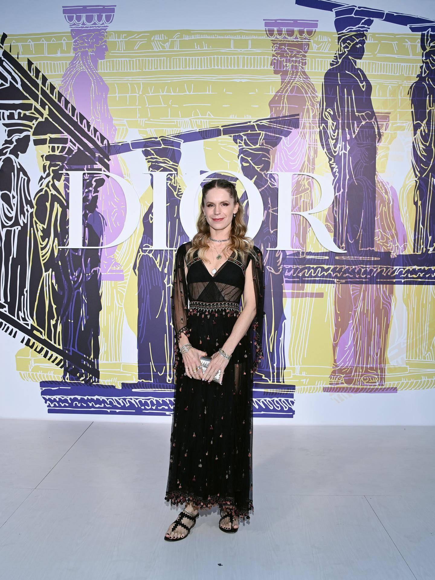 Eugenie Niarchos. (Dior)