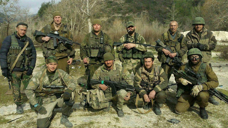 Foto: Miembros del Grupo Wagner en el área de Starobeshevo, en Donetsk, Ucrania, en algún momento del verano de 2014