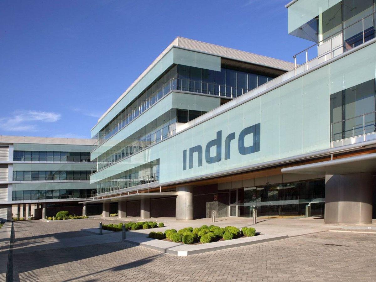 Foto: foto della sede centrale di Indra a Madrid.  (Indra)