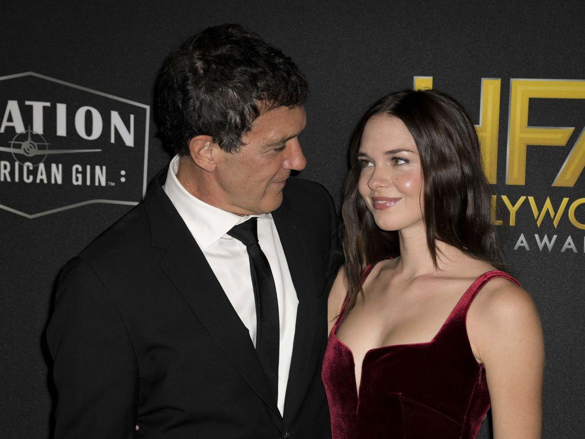 Foto: Antonio Banderas y su hija Stella. (EFE)