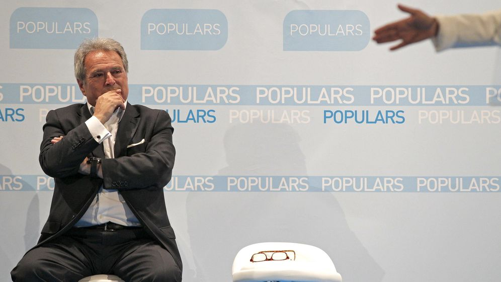Foto: Alfonso Rus participa en un acto en abril. (EFE)