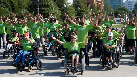 Flashmob en apoyo de la parálisis cerebral