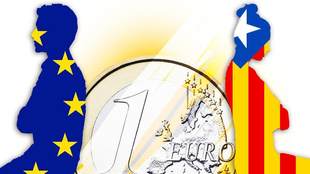 El dinero europeo da la espalda a Cataluña y huye a Madrid: cae un 62%