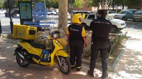 Un joven viaja de Jaén a Murcia para robar a un repartidor un paquete que él mismo envió