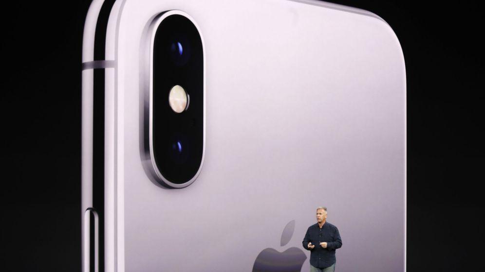 Foto: Phil Schiller, durante la presentación del iPhone X. (Reuters)