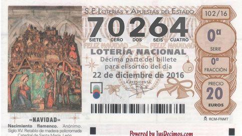 El cuarto quinto premio de la Lotería de Navidad recae en el número 70.264