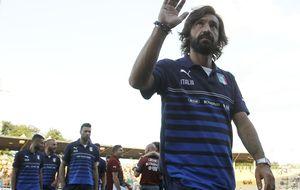 El último capítulo de la Italia de Andrea Pirlo comienzafrente a la Inglaterra más 'red'