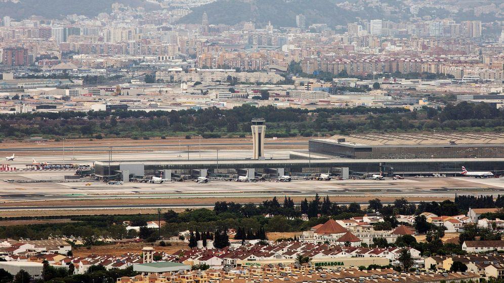 Foto: Vista del Aeropuerto de Málaga. (EFE)