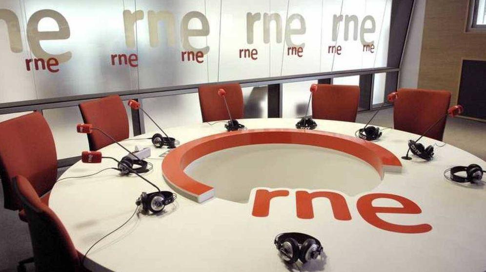 Foto: Set de Radio Nacional de España