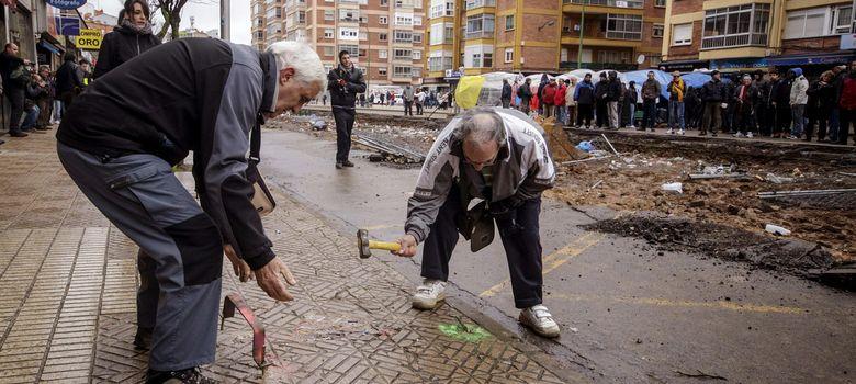 Burgos pagar a las constructoras por suspender el bulevar de gamonal noticias de espa a - Constructoras en burgos ...