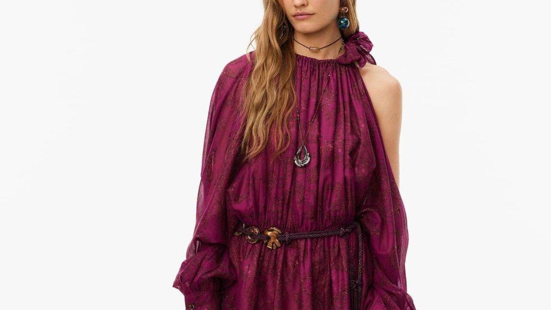 Por este vestido corto de Zara sacarás tu lado boho a pasear