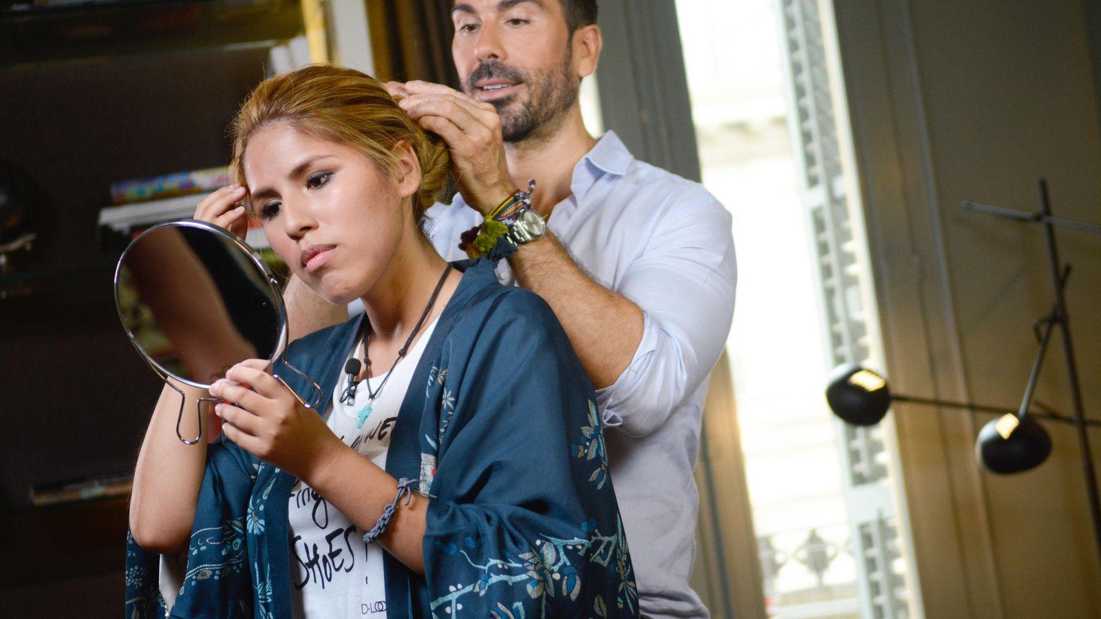 Foto: Isabel Pantoja 'Chabelita', en una imagen de 'Cazamariposas' (Telecinco)