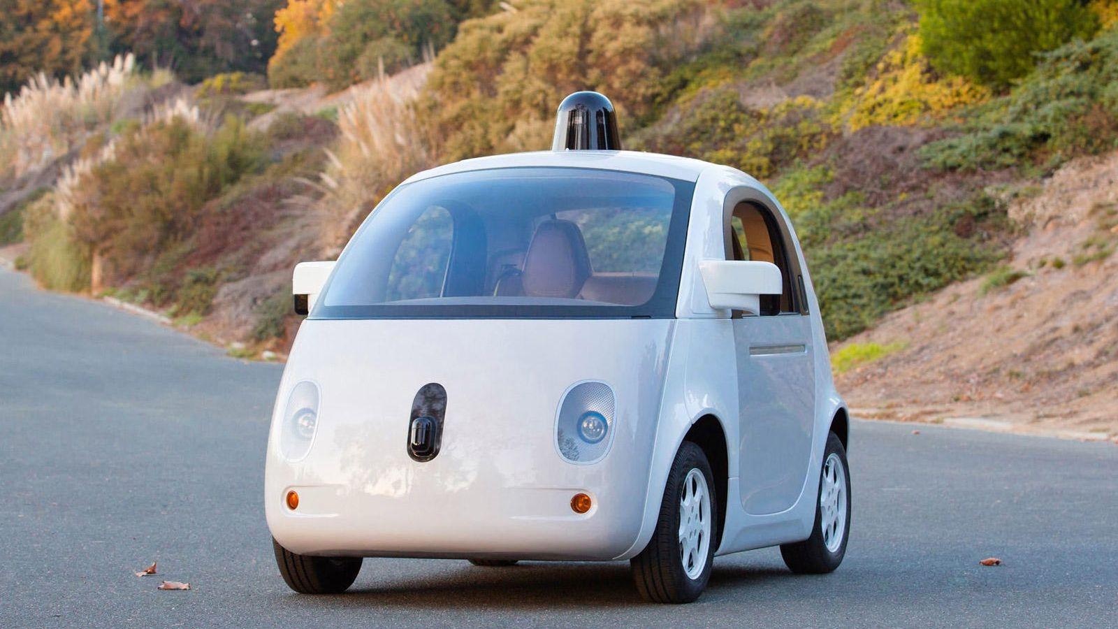 Foto: Uno de los modelos de coche autónomo de Google (Foto: Google)