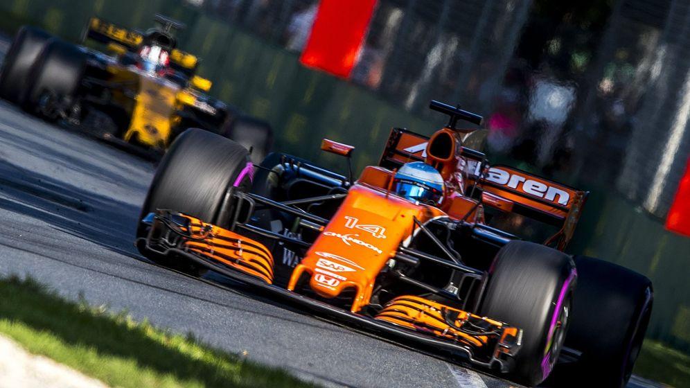 Foto: Fernando Alonso en el Gran Premio de Australia. (EFE)