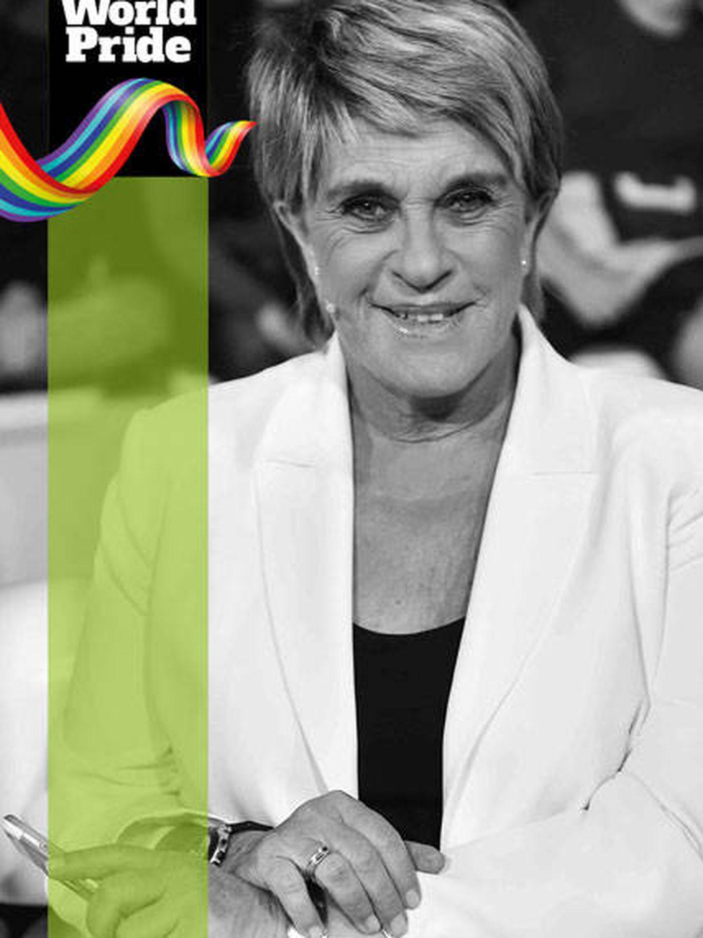 Orgullo LGTBI 2017: Chelo García Cortés.