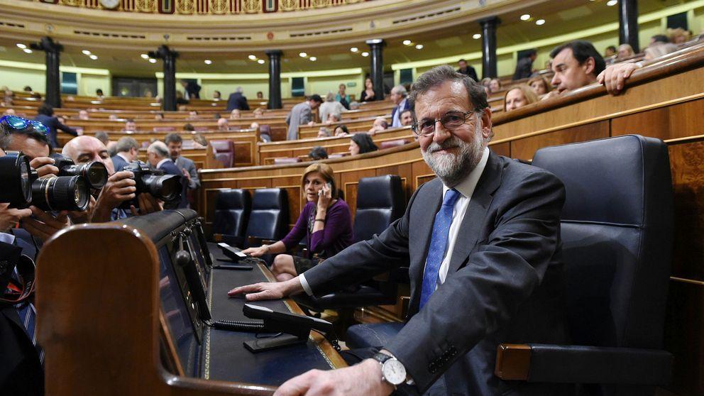 Rajoy impone su mayoría presupuestaria en el Congreso con el 'diputado 176'