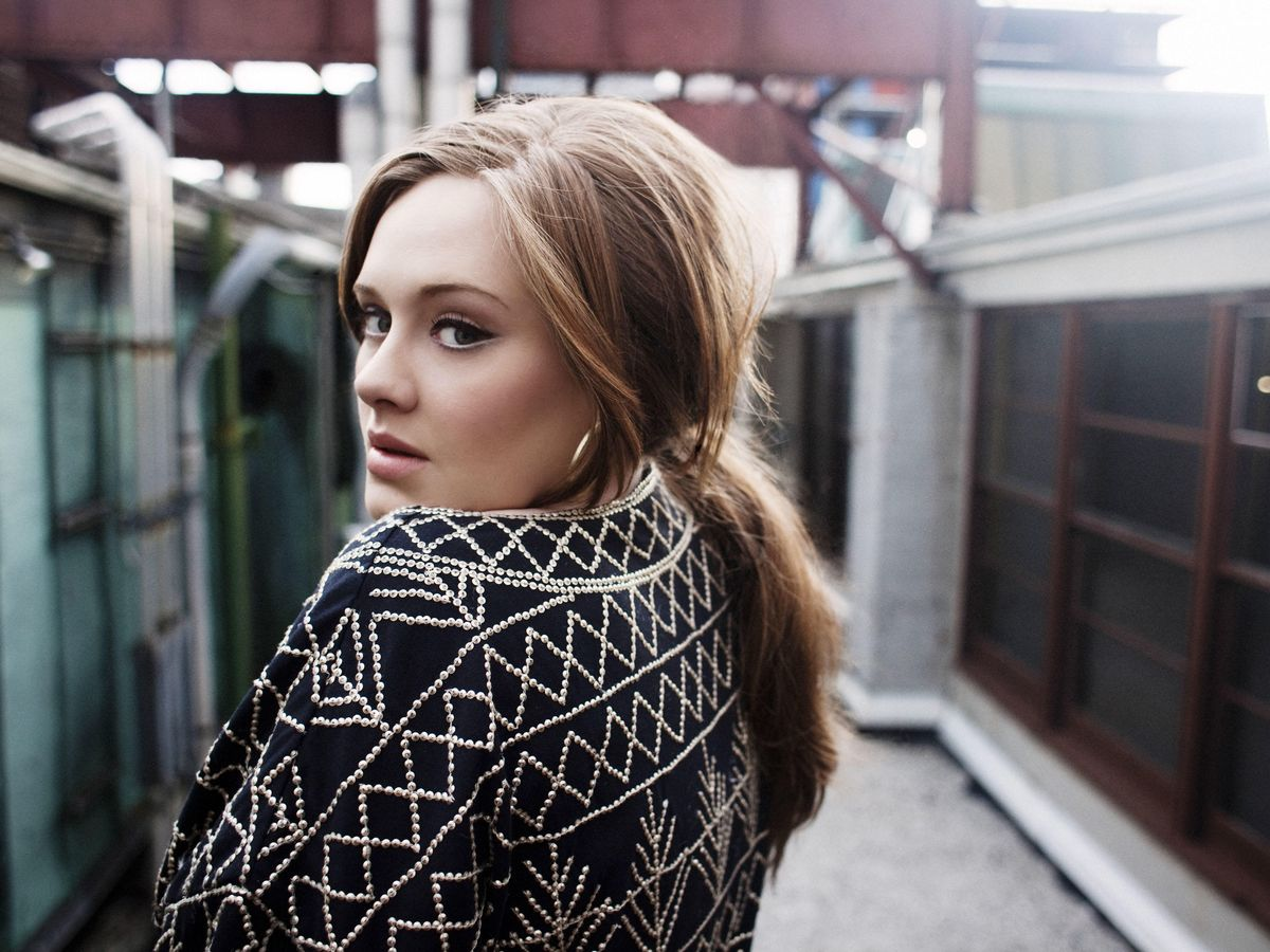 Foto: La cantante Adele en una imagen promocional