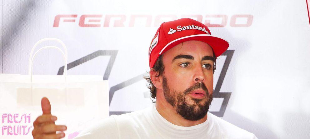 Foto: Fernando Alonso, durante el Gran Premio de Japón (EFE)