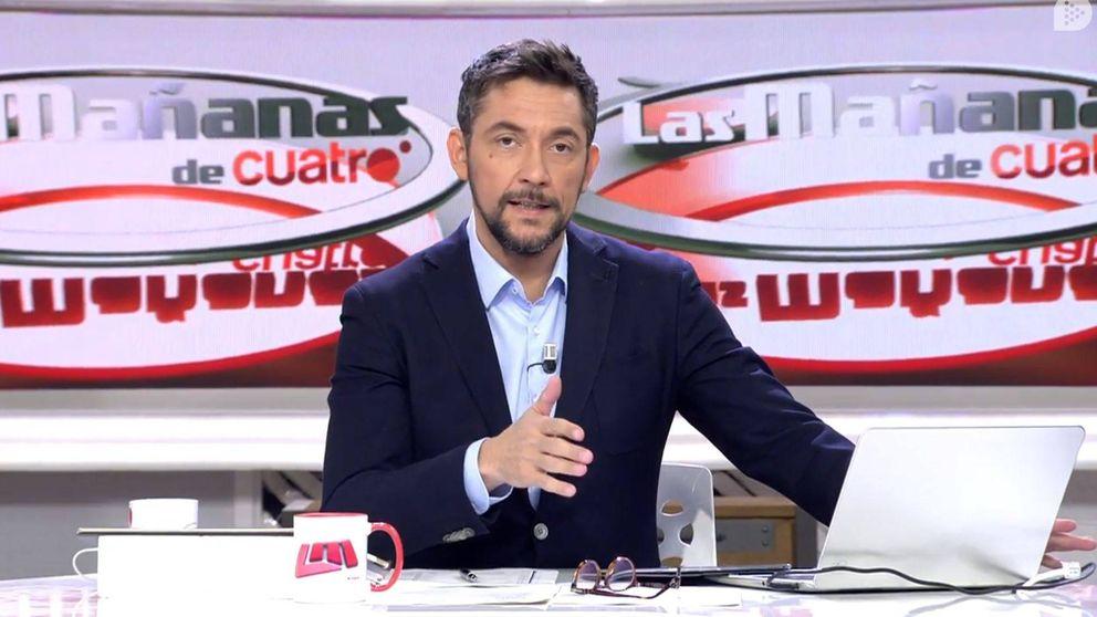 Javier Ruiz se pronuncia tras la cancelación de 'Las mañanas de Cuatro'