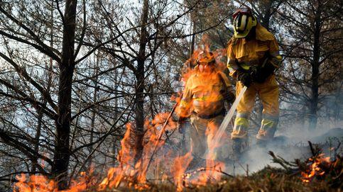 Cinco incendios forestales provocados en las últimas 24 horas en Cantabria