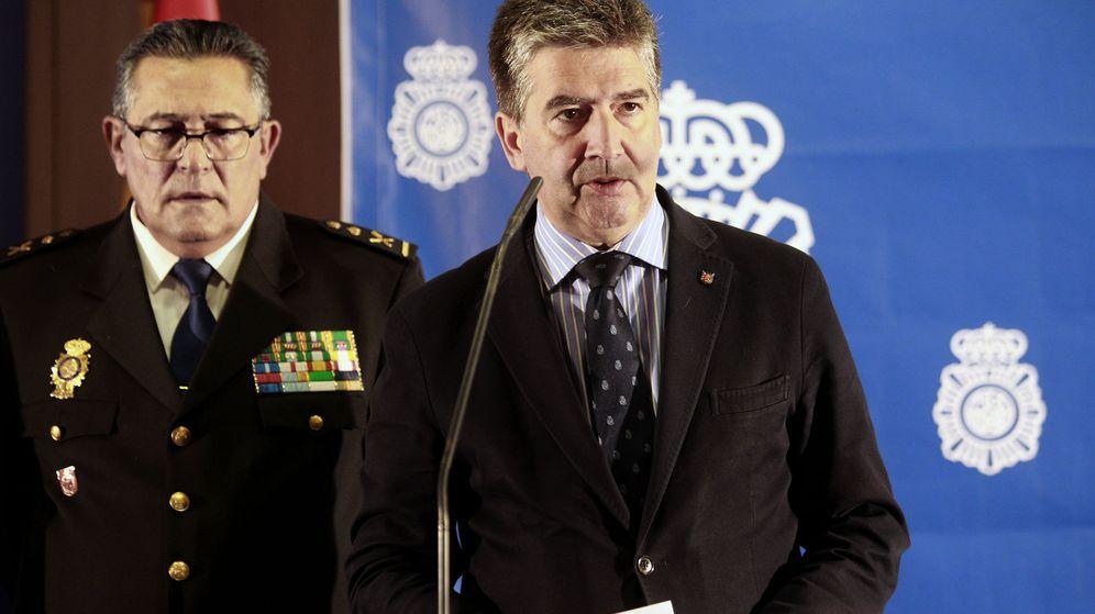 Foto: El director general de la Policía, Ignacio Cosidó. (EFE)