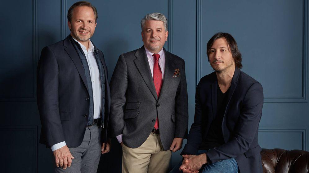 Foto: Pablo Alzugaray (Shackleton), Juan Pedro Moreno (Accenture) y Juan Nonzioli (Shackleton). (Accenture)