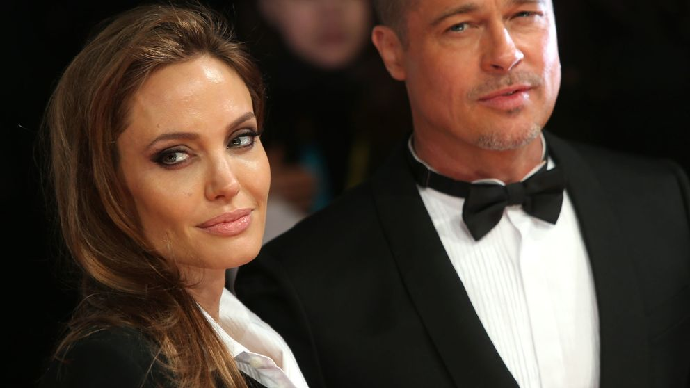 Brad Pitt y Angelina Jolie acaparan los flashes de los BAFTA