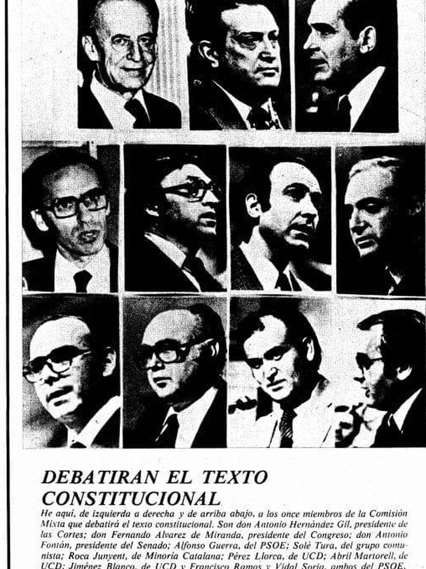 La Vanguardia, 25 de octubre de 1978. (Prensa Constitucion40)