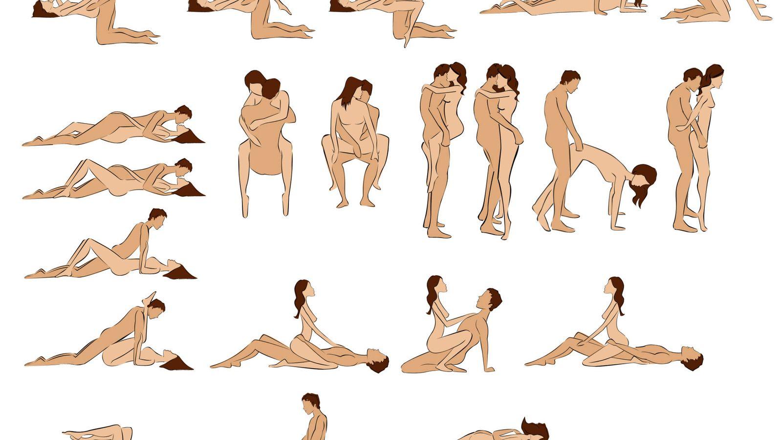 fotos de diferentes posiciones sexuales