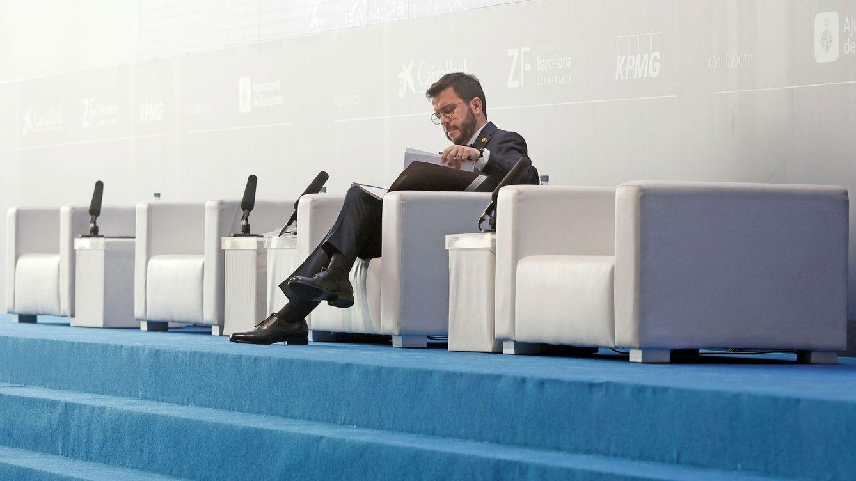 Pere Aragonès pide traspasar a la Generalitat el puerto y el aeropuerto de Barcelona
