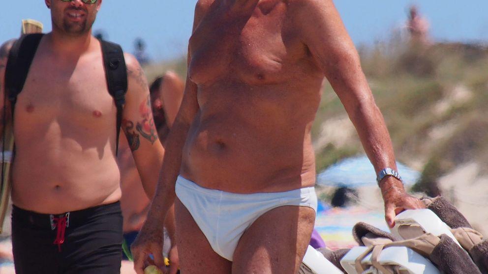 Giorgio Armani marca paquete en Formentera