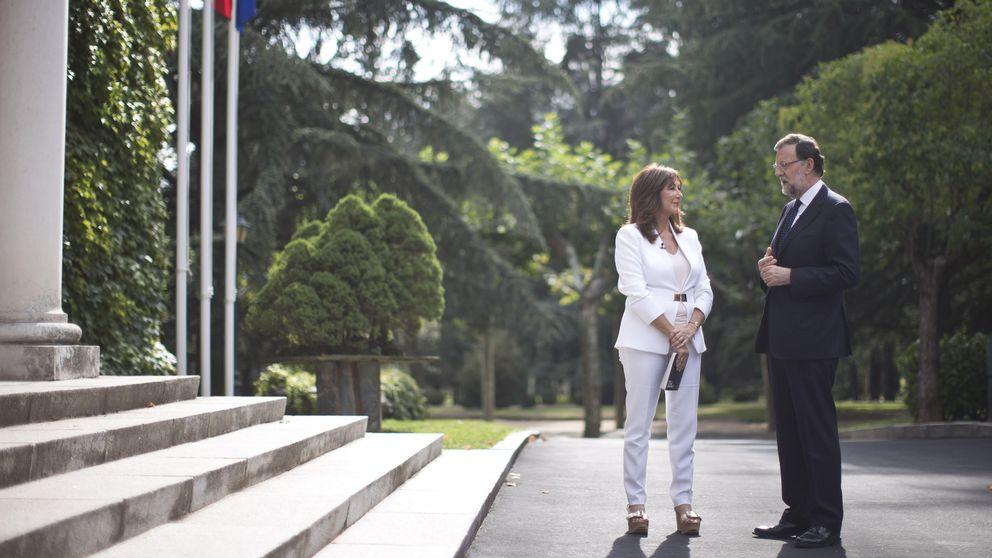 Rajoy a Ana Rosa: Mi vida como presidente es injusta para mi mujer