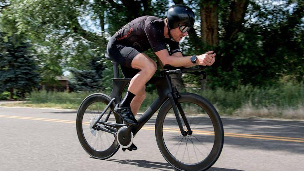 Foto: DrivEn, el prototipo de bicicleta sin cadena. (Ceramic Speed)