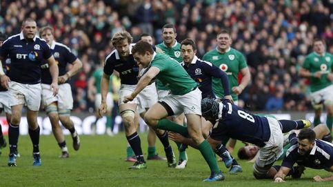 Irlanda topó con un doble muro en Murrayfield: 242 placajes de Escocia